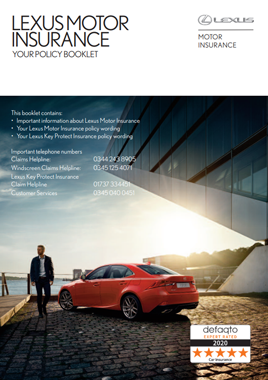 Lexus Car Motor Insurance Policy Booklet PDF